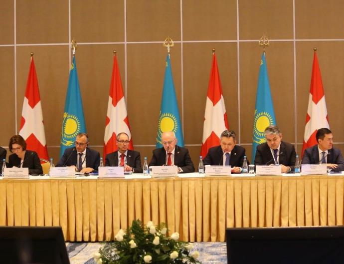 The volume of Swiss investments in the economy of Kazakhstan amounted to over $ 24 billion
